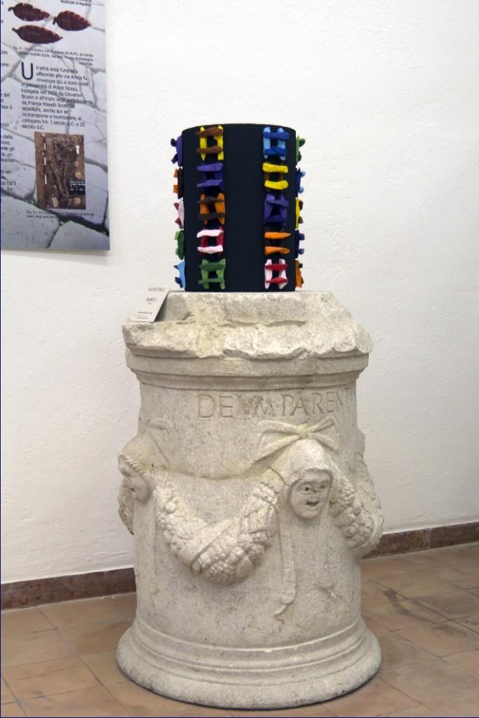 11 FlavioSnidero_Carso ad Aquileia, colonne carsiane