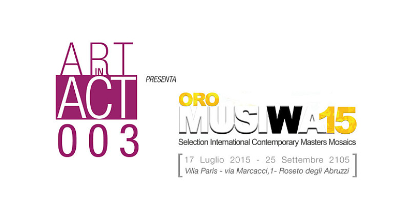 Video Catalogo  | Art in Act ORO©MUSIWA 2015